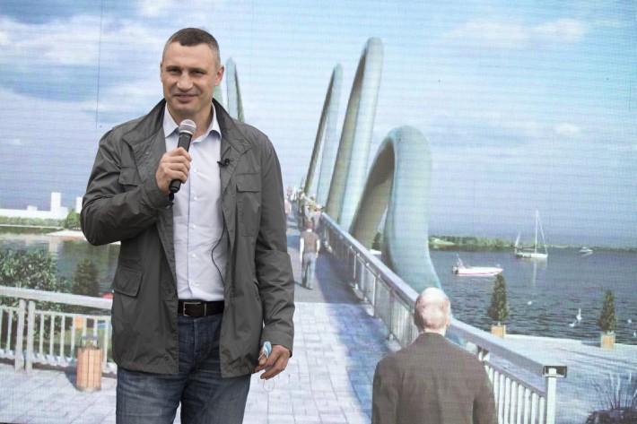 Виталий Кличко анонсировал строительство нового моста в Киеве