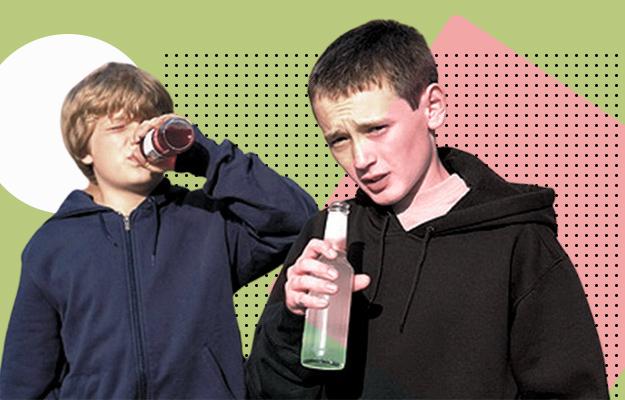 В киевской школе дети отравились алкоголем