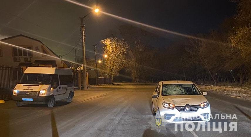 Под Киевом водитель сбил пешехода, который шел по проезжей части