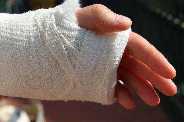 В Киеве убийца сломал полицейскому руку