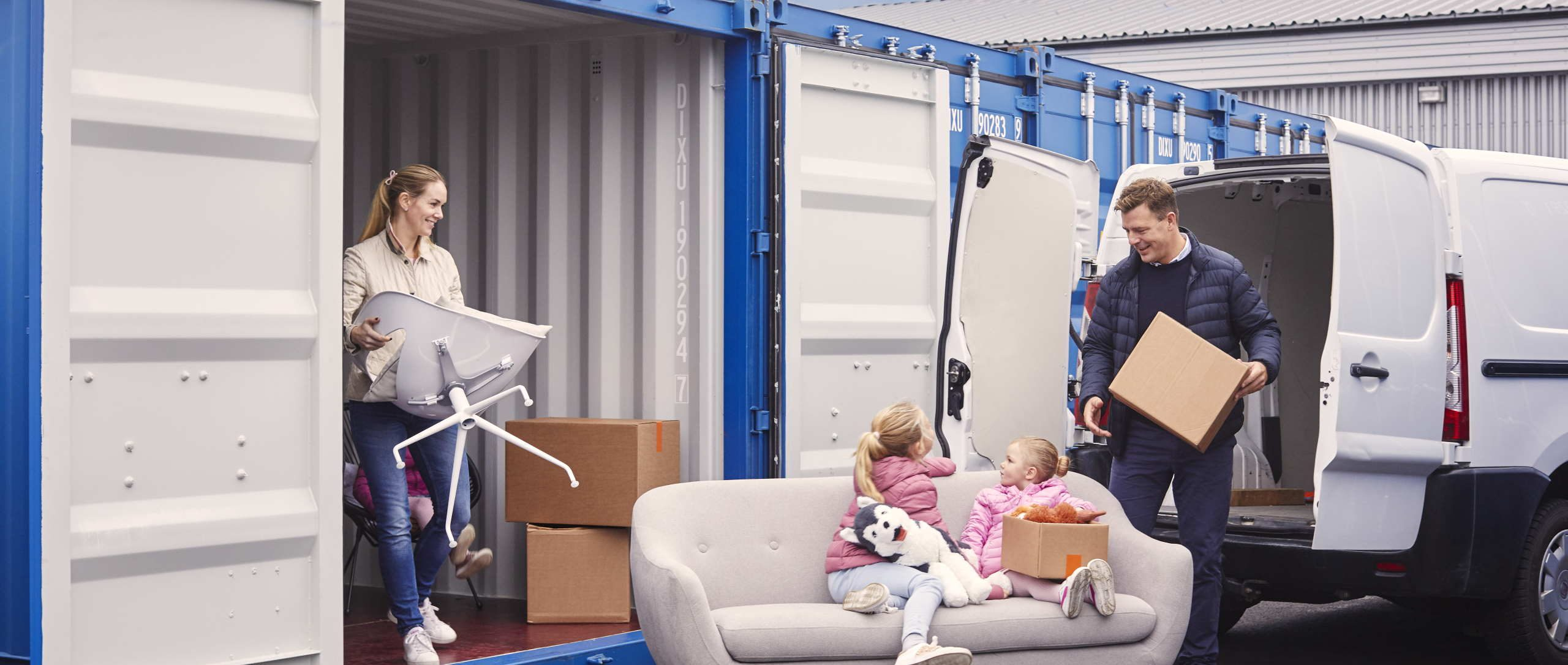 Персональный склад во время ремонта или переезда