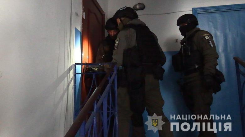 В Киеве полицейские разоблачили притон разврата