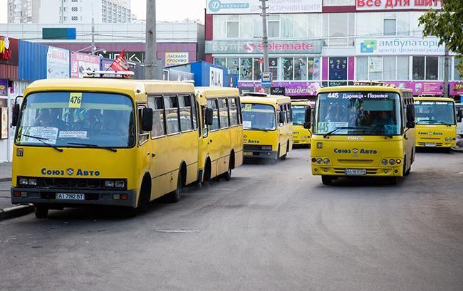 Кличко назвал сроки, когда из Киева исчезнут маршрутки