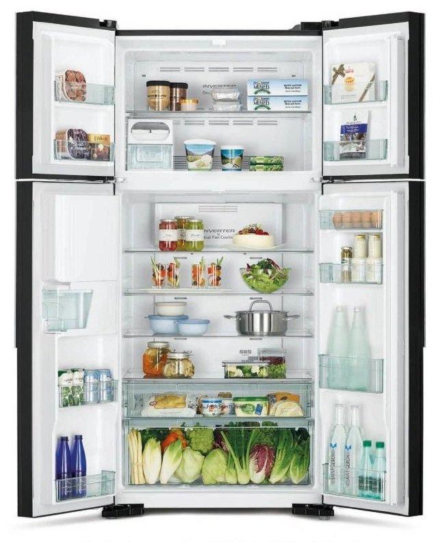 Многодверный холодильник HITACHI R-W660PUC7GBK