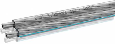 Кабель акустический Oehlbach Silverline 25 2х2.5 мм²