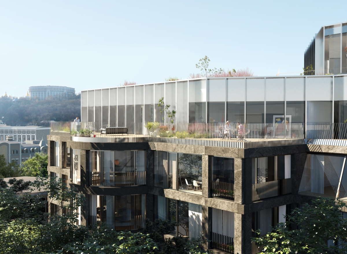 В шаге от Днепра: что известно о новом клубном доме ANDRIYIVSKY City Space