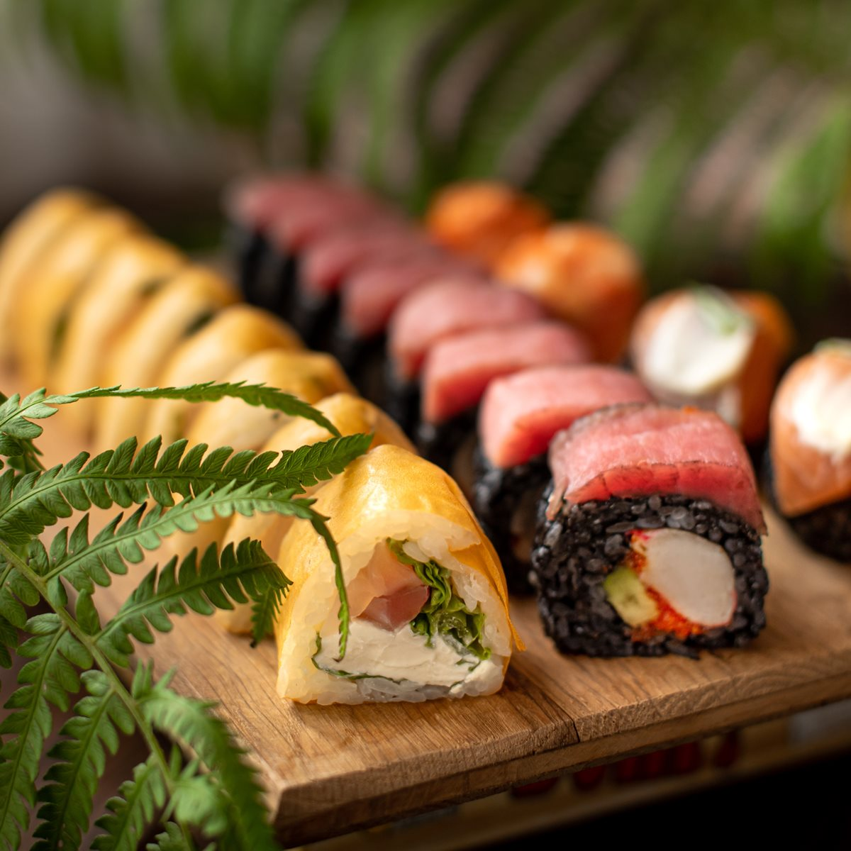 Любовь к суши начинается здесь