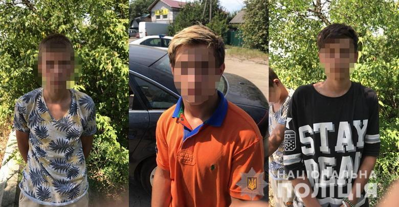 В Киеве дети угнали чужой автомобиль