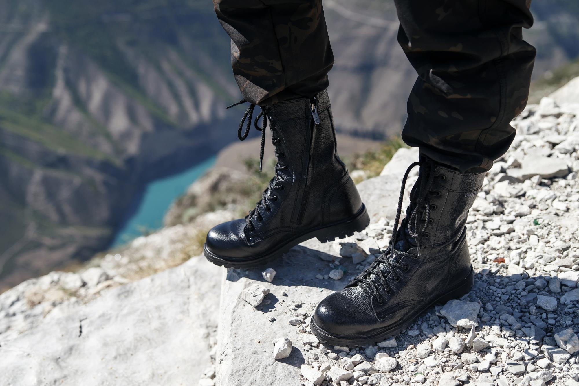 Обувь для охраны и военной полиции от Торнадо