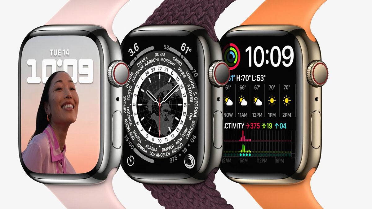 Особенности новых Apple Watch series 7