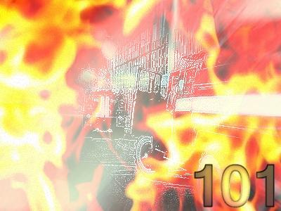 Решив погреться, бомжи подожгли подвал жилого дома