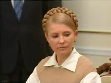 Юлия Тимошенко будет выступать под фонограмму