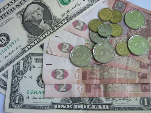 Наличный доллар 8,65-8,75 грн.