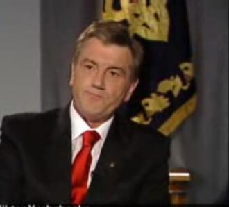 Виктор Ющенко распустил Верховную Раду